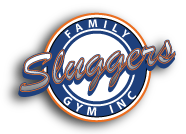Sluggers Family Gym Inc. Logo