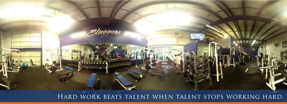 Hard work beats talent when talent stops working hard. | Gym equipment